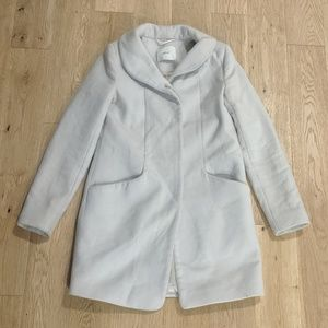 Aritzia Wilfred XS Beige Coat